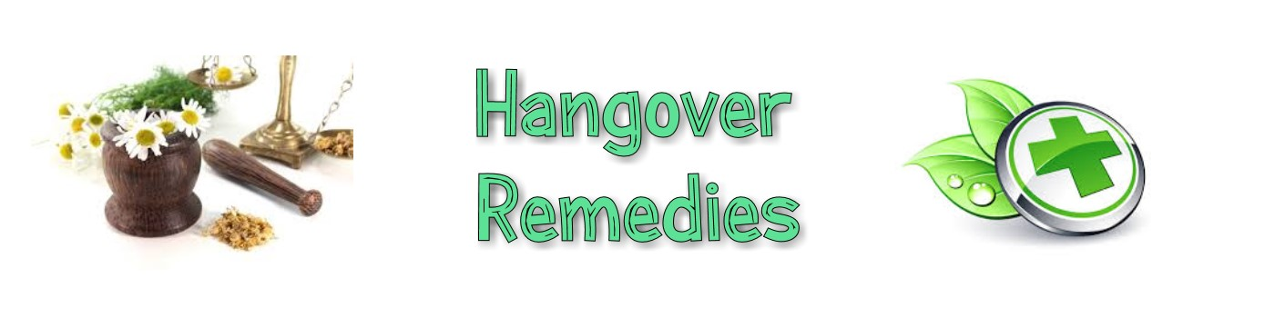 hangover remedies